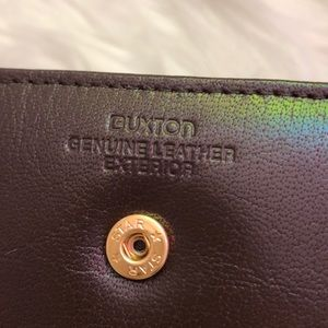 Buxton Bags - Buxton New Leather Kiss Wallet